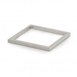 white ring square delicacy