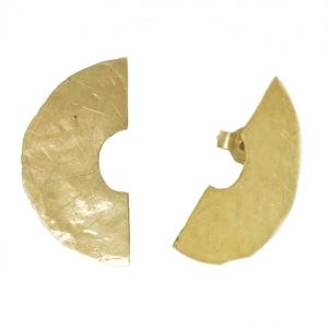 złote półkręgi
