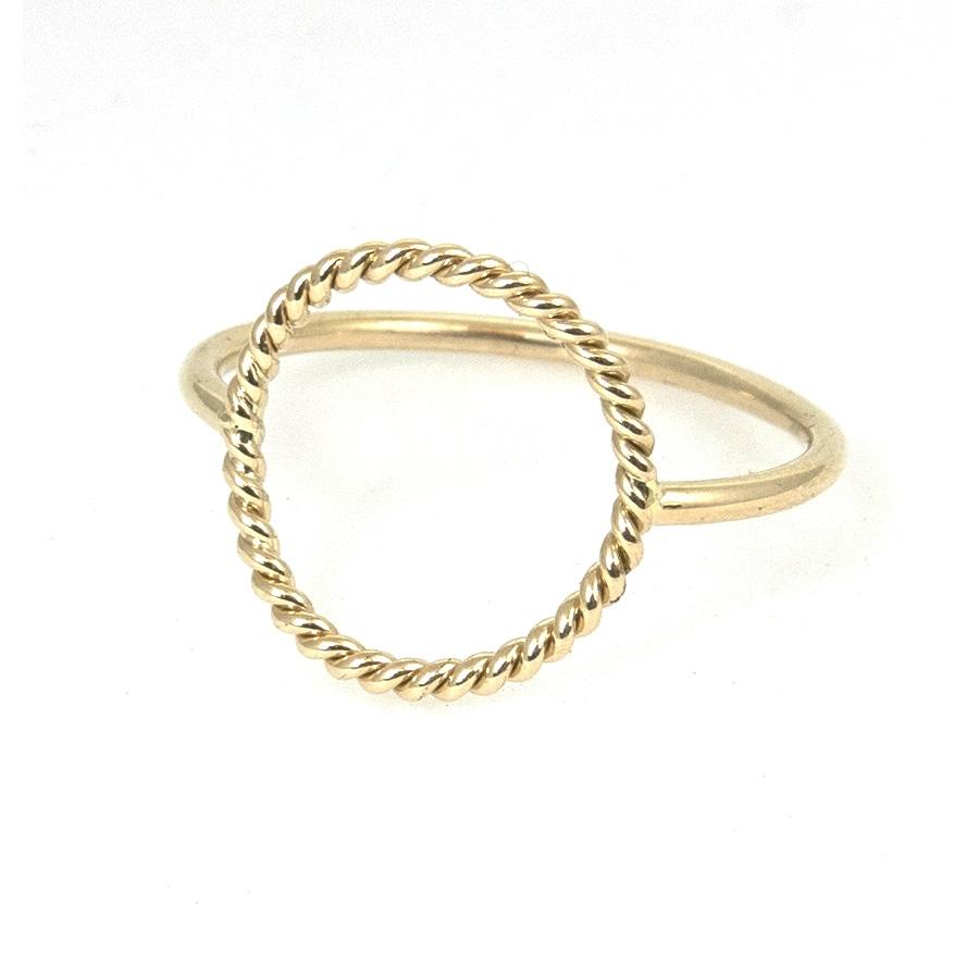 braided circle