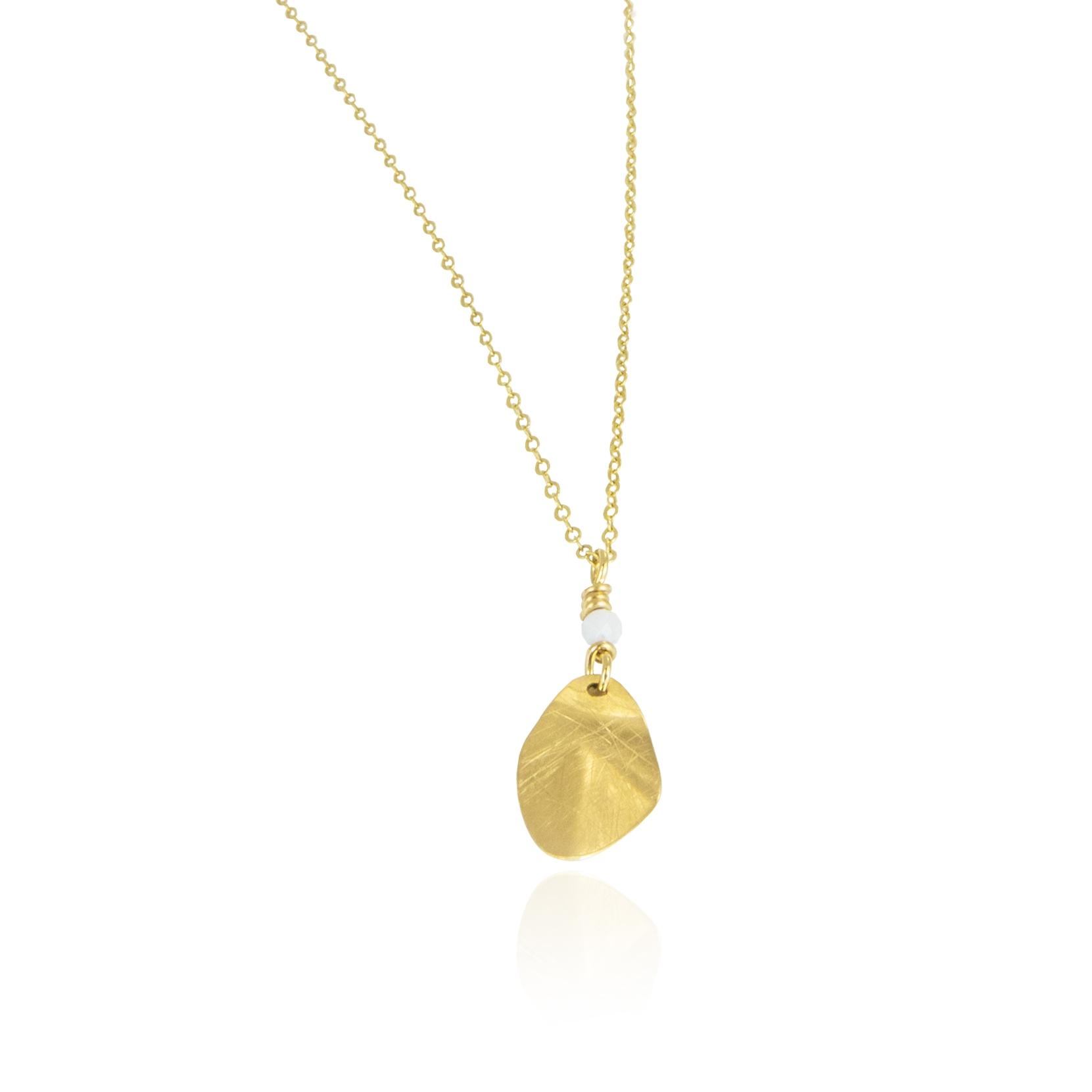 pendant with chalcedony
