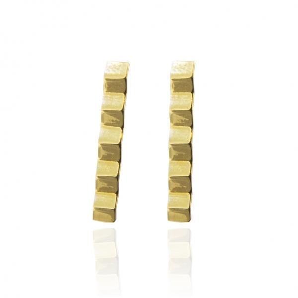 złote kolczyki harmonia