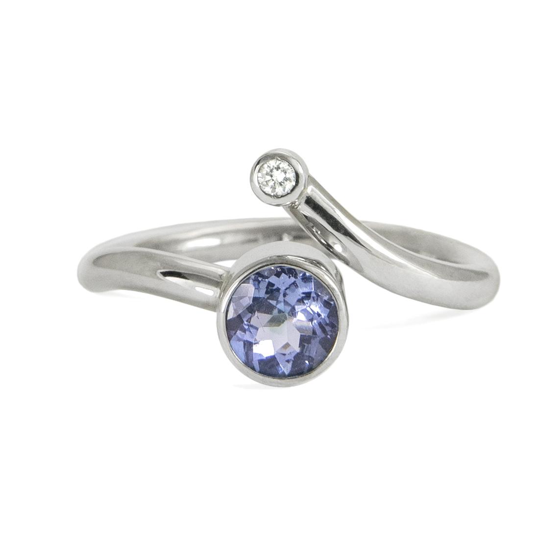 tanzanite and diamond