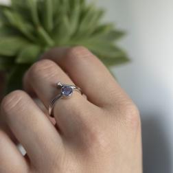 diamond and tanzanite