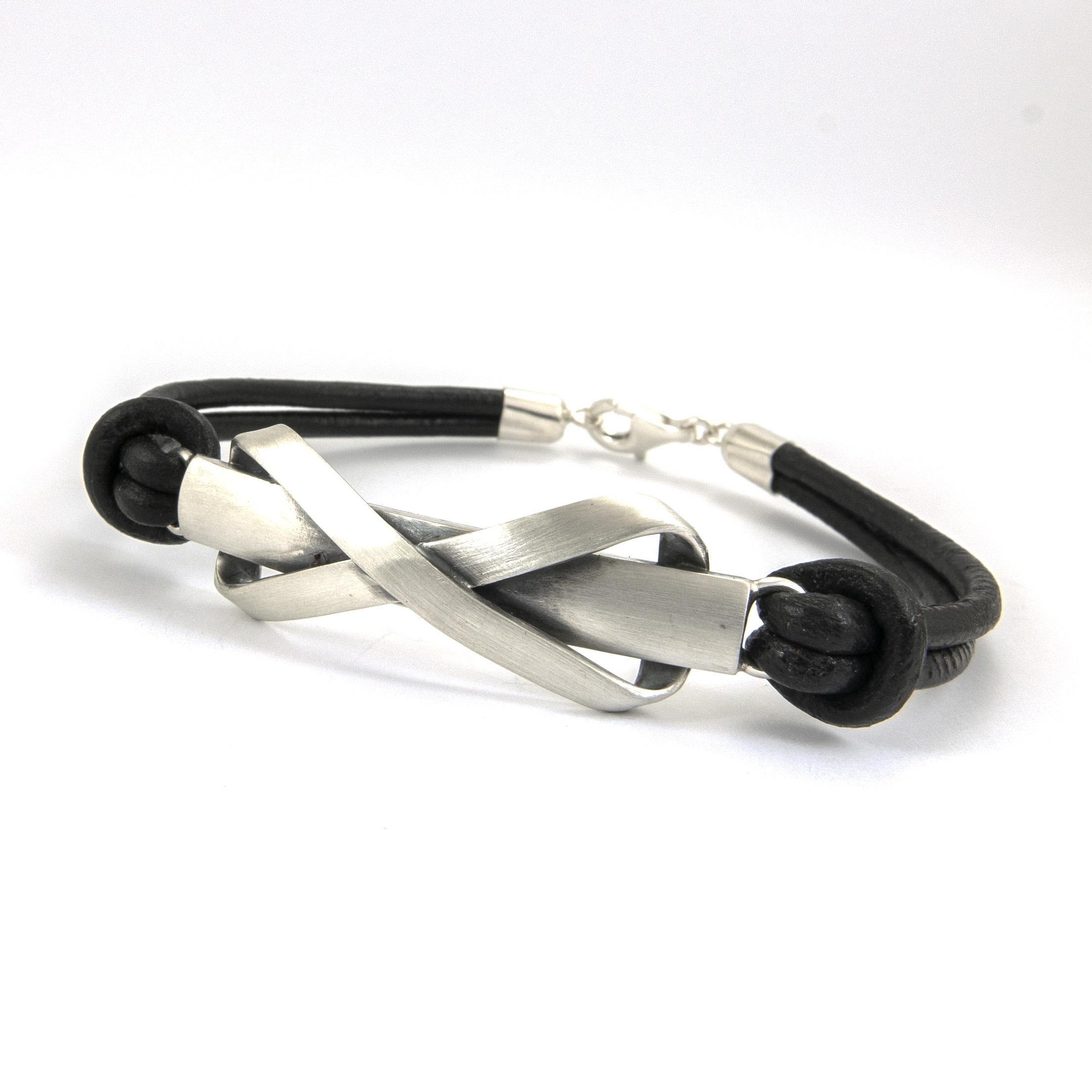 silver bracelet infinity