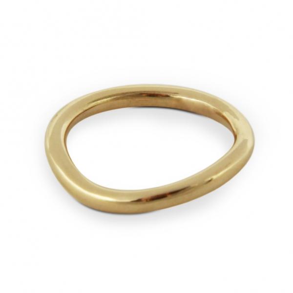 złoty krąg, obrączka, jabłońska jewellery