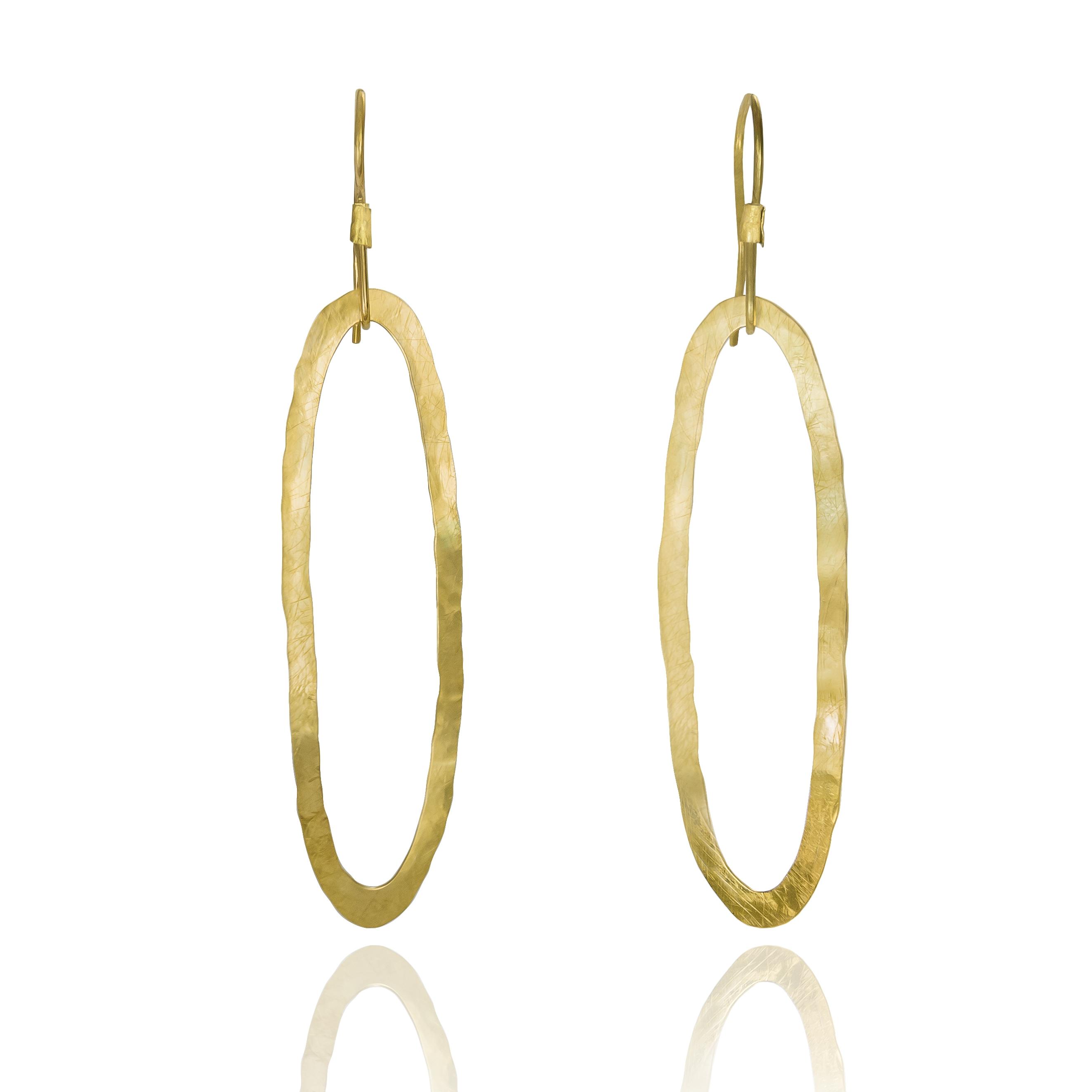 unusual gold earrings