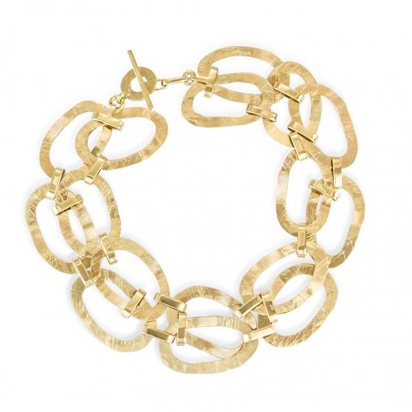 niebanalna - złota bransoletka